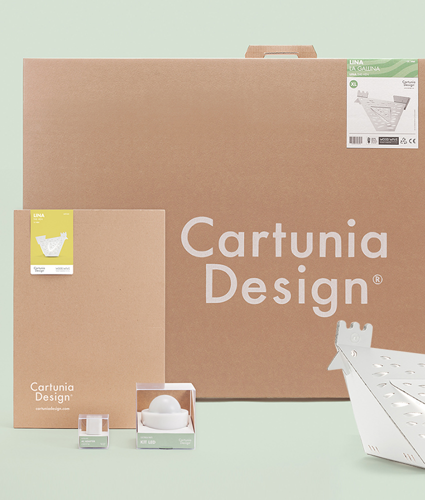 Cartunia Design Pack prodotti