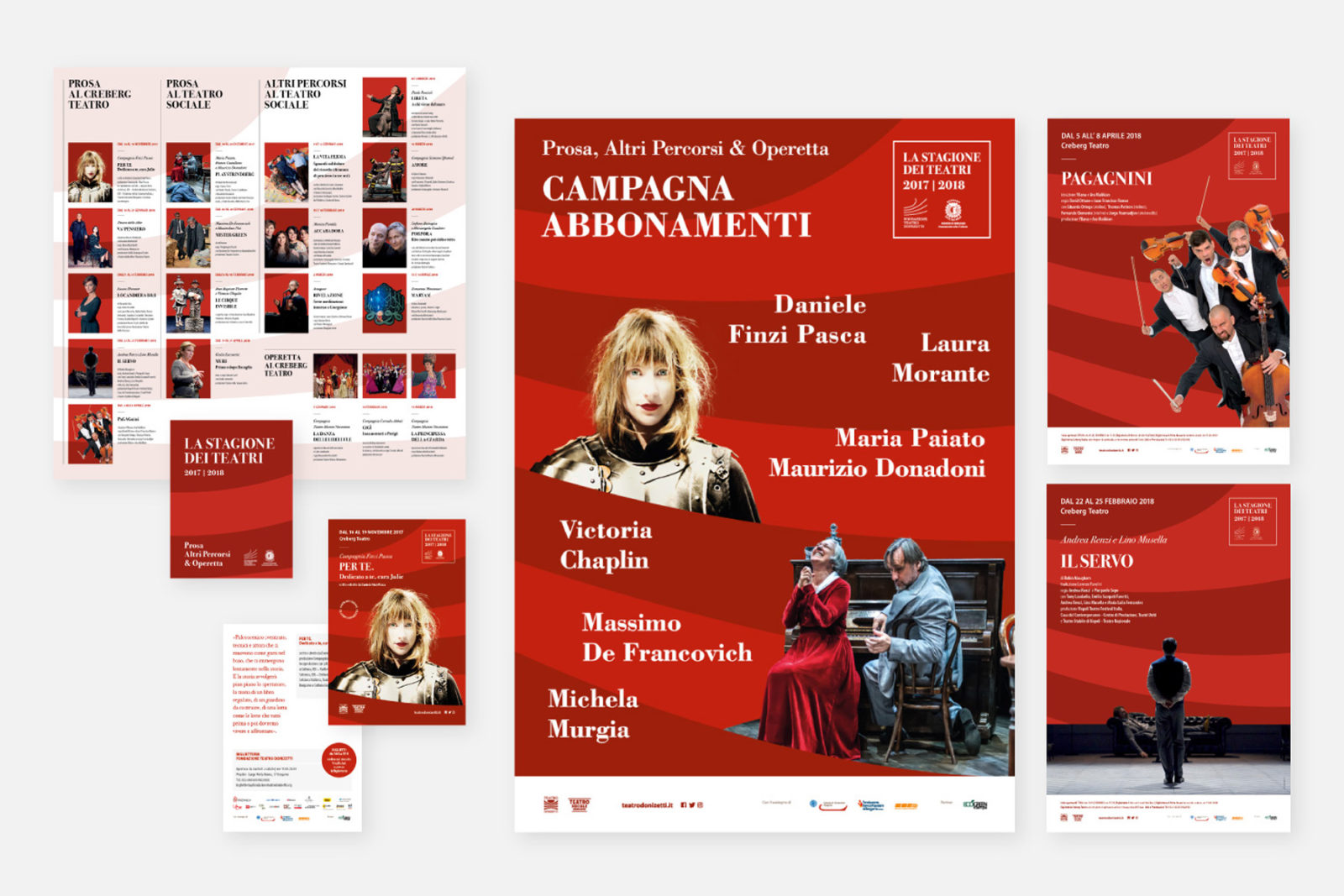 Volantino Fondazione Teatro Donizetti