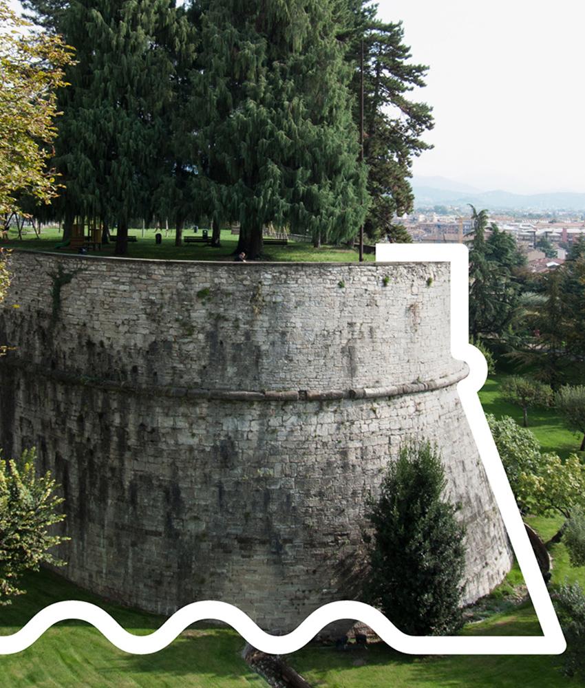 Mura Veneziane Bergamo Visuale