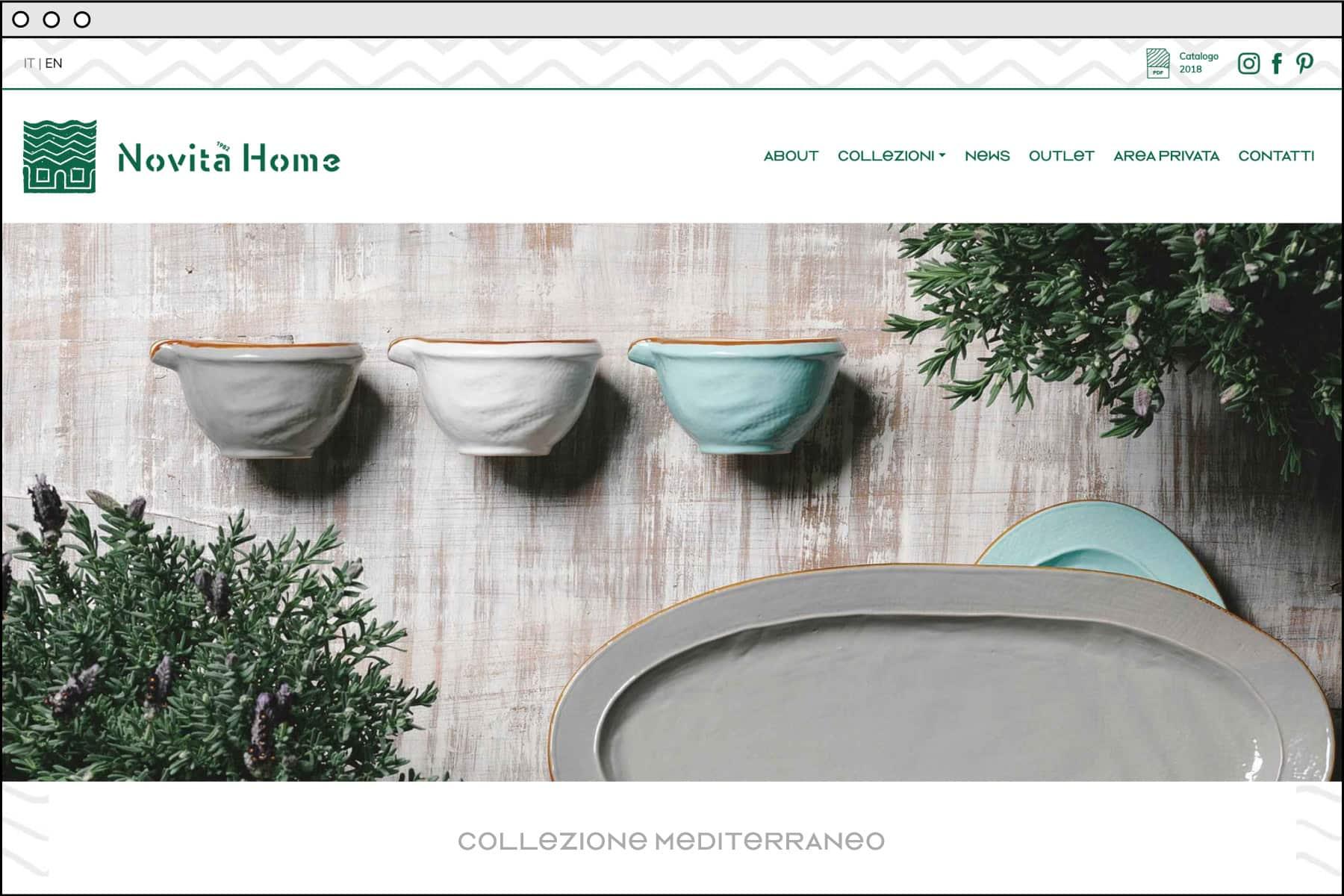 Novità Home sito web