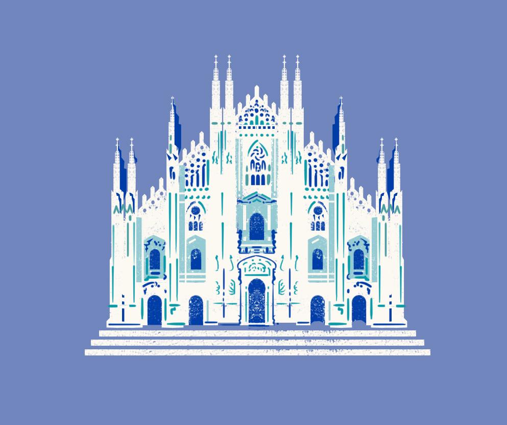 Grafica Duomo Milano Università Bocconi